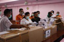 Tambang Emas Martabe Serahkan Bantuan APD dan kebutuhan utama lainnya untuk wilayah Tapanuli Tengah