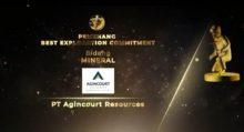 Agincourt Resources Raih 3 Penghargaan Pertambangan dari Ditjen Minerba KESDM dan Penghargaan Best Exploration Commitment dalam IAGI Exploration Awards 2020